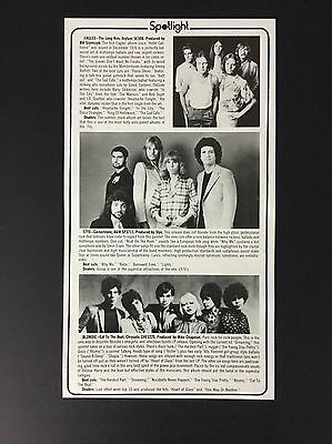 Billboard Spotlight Story On Albums By Blondie, STYX, And The Eagles