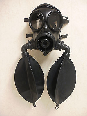 S10 Gas Mask Modified Twin Bag Rebreather size 2