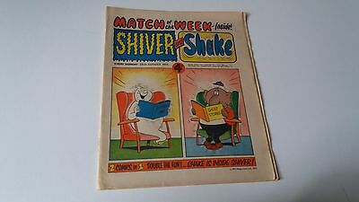 shiver and shake comic issue 25 25TH AUGUST 1973