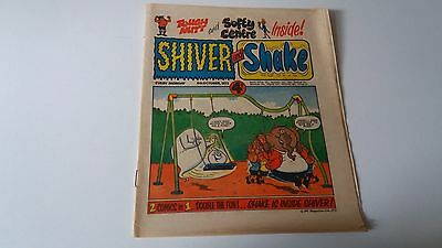shiver and shake comic issue 31 6TH OCTOBER 1973