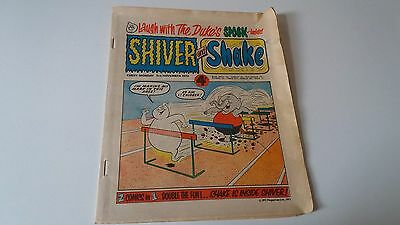 shiver and shake comic issue 35 3RD NOVEMBER 1973