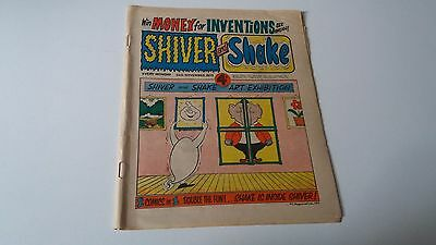 shiver and shake comic issue 38 24TH NOVEMBER 1973