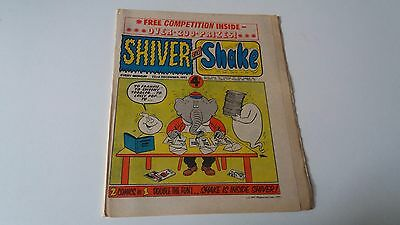shiver and shake comic issue 42 22ND DECEMBER 1973
