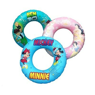 Children Inflatable Swim Ring Tire Float Tube Beach Sea Summer Swimming Pool Aid