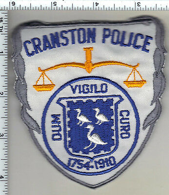 Cranston Police (Rhode Island) Shoulder Patch from 1985
