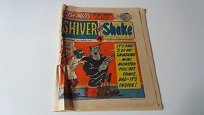 shiver and shake comic issue 55 23RD MARCH 1974