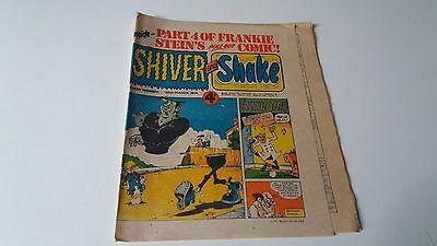 shiver and shake comic issue 56 30TH MARCH 1974