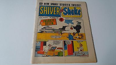 shiver and shake comic issue 58 13TH APRIL 1974