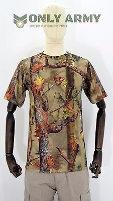 Percussion Ghost Camo T'Shirt Realtree Real Tree Cool Max Breathable Summer