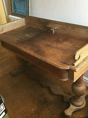 Solid wood table or desk or baby changer unit £199 ONO