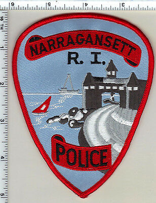 Narragansett Police (Rhode Island) Shoulder Patch from 1994