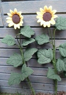 Dolls House Miniatures 1/12 2 Tall Sunflowers Pack of two 4948