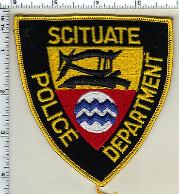 Scituate Police (Rhode Island) Shoulder Patch from 1989