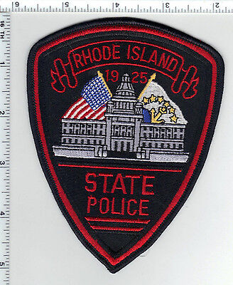 State Police (Rhode Island) Shoulder Patch from the 1980's