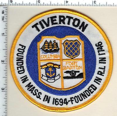 Tiverton Police (Rhode Island) Shoulder Patch from 1996