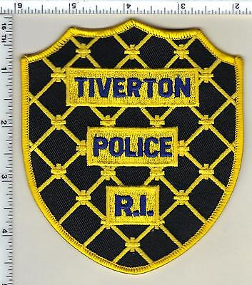 Tiverton Police (Rhode Island) old style Shoulder Patch from 1996