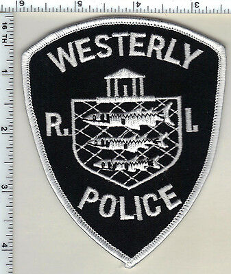 Westerly Police (Rhode Island) Shoulder Patch from 1992