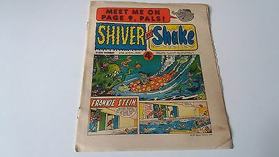 shiver and shake comic issue 60 27TH APRIL 1974