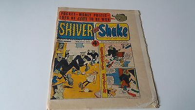 shiver and shake comic issue 63 18TH MAY 1974