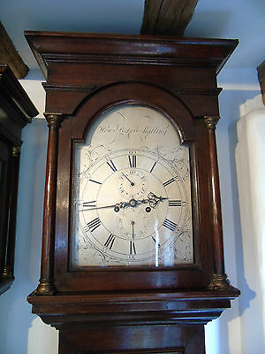 8 Day Longcase Clock by Famous Maker Henry Baker of West Malling Kent c.1770
