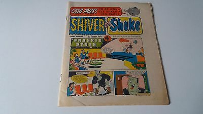 shiver and shake comic issue 70 3RD AUGUST 1974