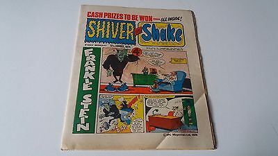 shiver and shake comic issue 72 17TH AUGUST 1974