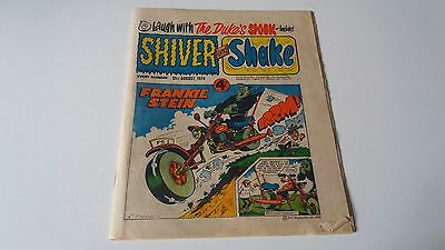 shiver and shake comic issue 74 31ST AUGUST 1974