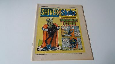 shiver and shake comic issue 75 7TH SEPTEMBER 1974