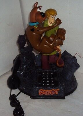 Telemania SCOOBY DOO & SHAGGY ANIMATED TALKING TELEPHONE PHONE Sounds Lights