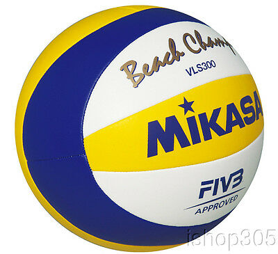 MIKASA VLS300 Official FIVB Rio Olympic Beach Champ Volleyball Outdoor Game Ball