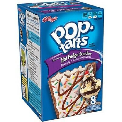 Pop Tarts Frosted Hot Fudge Sundae 384g