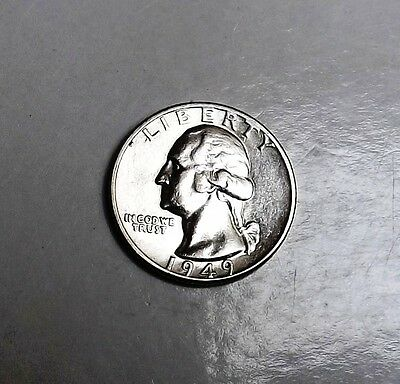 United States 1949 Silver Quart Dollar Very Nice Condition Very Nice Rare Coin