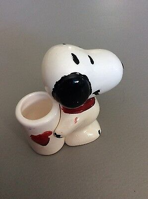 China Snoopy Dog official ware stamped dated