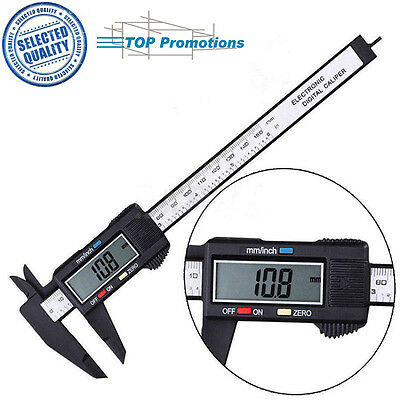 150mm/6inch Measuring Tool Ruler LCD Gauge Micrometer Digital Vernier Caliper