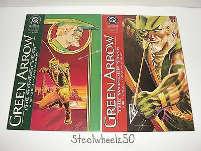 Green Arrow The Wonder Year #1 & 2 Comic Lot DC 1993 Origin Mike Grell Morrow