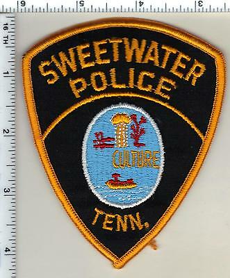Sweetwater Police (Tennessee) Shoulder Patch from 1992