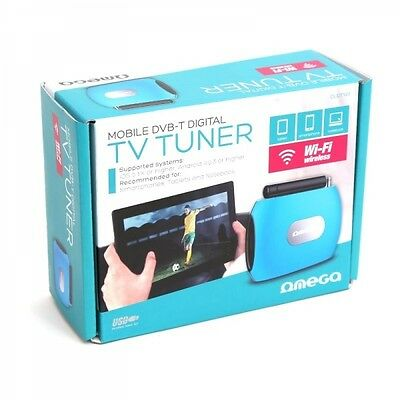 Tuner TV DVB-T wifi pour appareil mobilesOmegaOUDTY01
