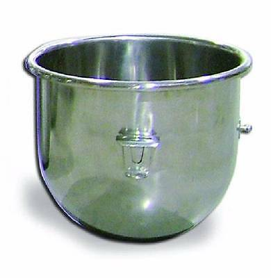 Omcan 23509 Stainless 20 Qt. Mixing Bowl For Hobart Dough Mixer 30 60 80 140
