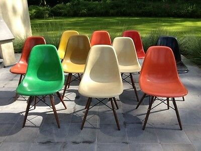10 Chaises  Dsw Charles Eames
