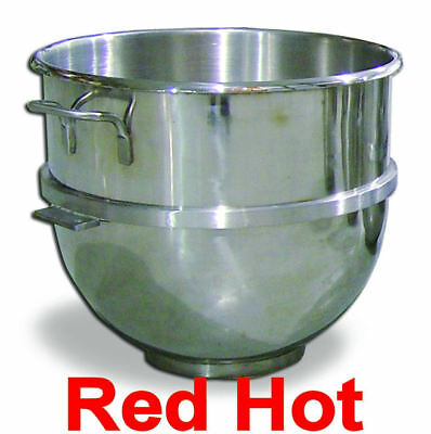 Omcan 14249 Stainless Steel 80 Qt Mixing Bowl For Hobart Mixer MXB80 20, 30, 60