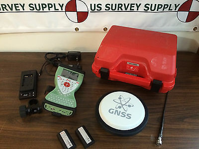 Leica GS14 UHF & GSM GNSS Receiver w/ CS15 Collector - RTK Base, Rover, or RTN