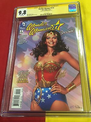 Wonder Woman'77 #2 CGC 9.8 WP Signed, Gal Gadot movie 75th Anniversary Special
