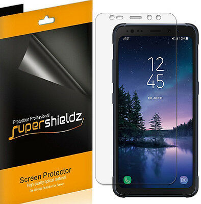 6X Supershieldz Clear Screen Protector Saver for Samsung Galaxy S8 Active