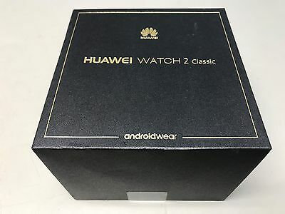 New Huawei Watch 2 Classic Smartwatch Titanium Gray for Android and iOS LEO-BX9