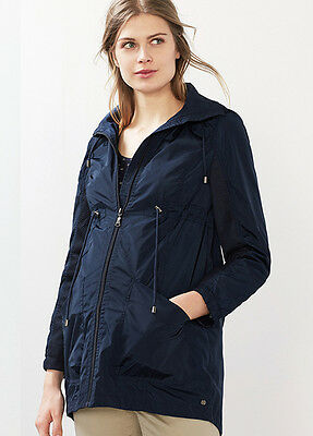 NEW - Esprit - Hooded Parka in Night Blue - Maternity Parka Jacket