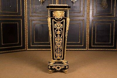 Majestic COLUMN Podium in the Style Louis XVI Style After J. Henri Riesener