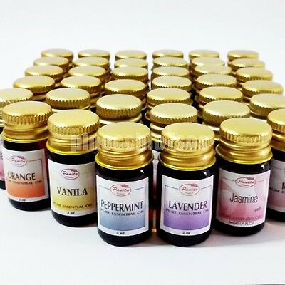 BUY 3 GET 1 FREE Aroma Fragrance Essential Oil 5ML. cc Spa Diffuser Burner T0136