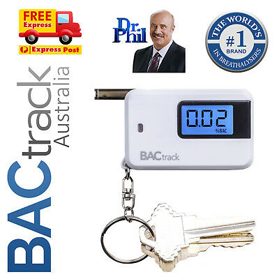 BACtrack GO Keychain - Breathalyser / Alcohol Breath Tester / FREE Shipping