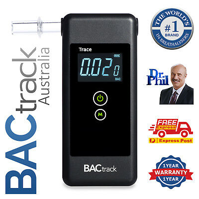 BACtrack Trace Pro - Breathalyser / Alcohol Breath Tester / FREE Shipping