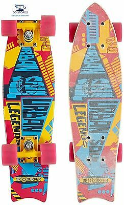 SK8surfer No Rules Longboard 2Ass 22""